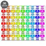 Rainbow Owl Pattern Puzzle