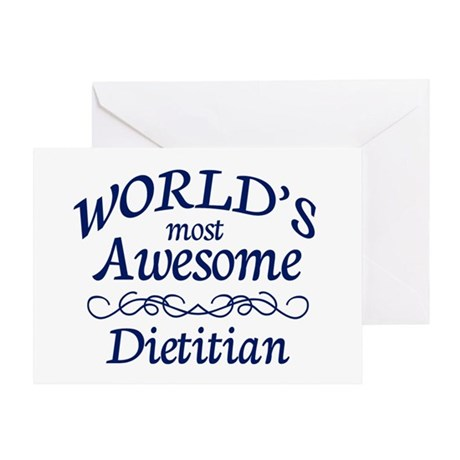 Dietitian Greeting Card