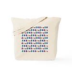 Kawaii Monster Pattern Tote Bag