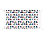 Kawaii Monster Pattern Banner