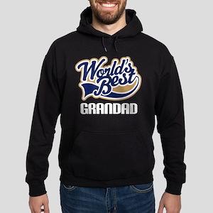 Worlds Best Grandad Hoodie (dark)
