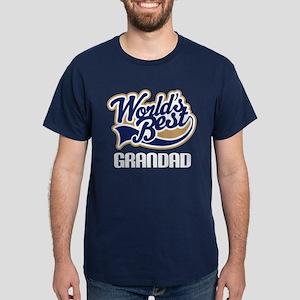 Worlds Best Grandad Dark T-Shirt