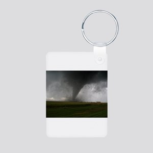 Tornado Aluminum Photo Keychain