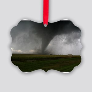 Tornado Picture Ornament