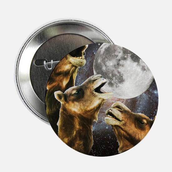 "Three Camel Moon 2.25"" Button"
