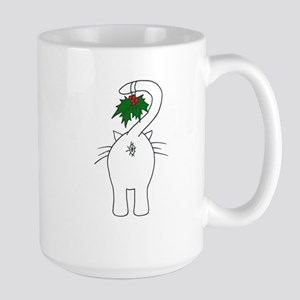 Season's Greetings From Our Cat Large Mug