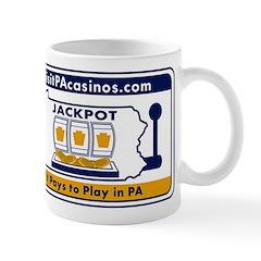 visitPAcasinos Logo Mug