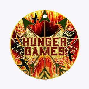 Hunger Games Heat Ornament (Round)