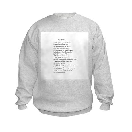 Psalm 121 Kids Sweatshirt