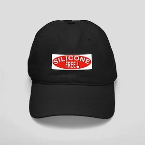 Silicone Free Black Cap