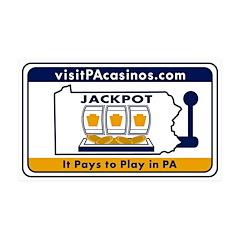 visitPAcasinos Logo Wall Decal