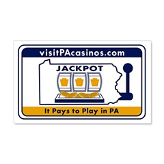 visitPAcasinos Logo Wall Decal