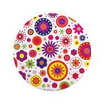Hippie Rainbow Flower Pattern 3.5