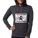 PIRATE Womens Hooded Shirt