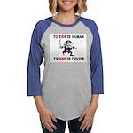 PIRATE Womens Baseball Tee