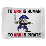 PIRATE Pillow Sham