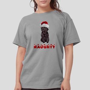 Naughty Affenpinscher Womens Comfort Colors Shirt