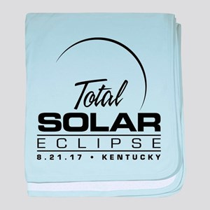 Total Solar Eclipse Kentucky 2017 baby blanket