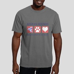 FIN-afghan-hound-pawprints- NEW Mens Comfort C