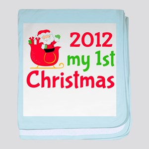 2012 First Christmas Baby Blanket