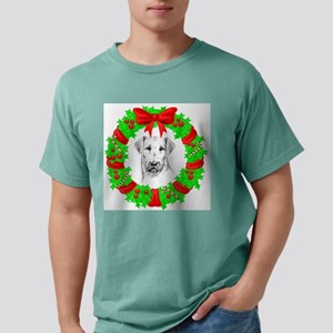 airedale-terrier-christmas Mens Comfort Colors
