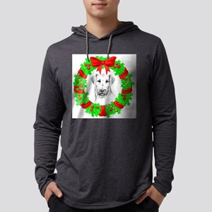 airedale-terrier-christmas Mens Hooded Shirt