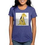 airedale-terrier Womens Tri-blend T-Shirt