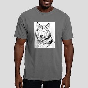 Alaskan Malamute Mens Comfort Colors Shirt