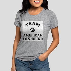 Team American Foxhound Womens Tri-blend T-Shirt
