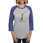 American Foxhound Party Womens Baseball Tee