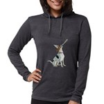 American Foxhound Party Womens Hooded Shirt