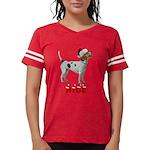 Nice American Foxhound Womens Football Shirt