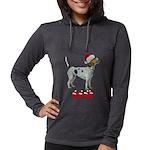 Nice American Foxhound Womens Hooded Shirt