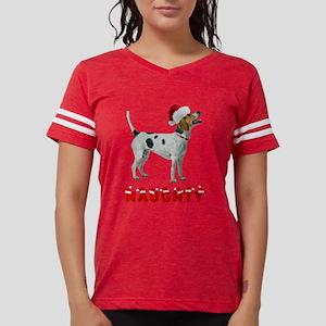 Naughty American Foxhound Womens Football Shirt