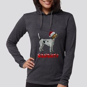 Naughty American Foxhound Womens Hooded Shirt