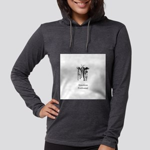 American Foxhound Womens Hooded Shirt