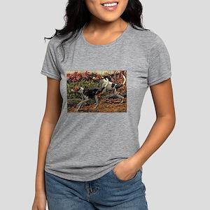 FIN-american-foxhound-portrait Womens Tri-blen