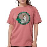 Irish American Foxhound Womens Comfort Colors Shir