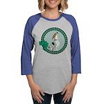 Irish American Foxhound Womens Baseball Tee