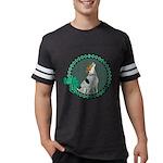 Irish American Foxhound Mens Football Shirt