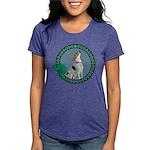 Irish American Foxhound Womens Tri-blend T-Shirt