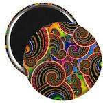 Funky Rainbow Swirl Pattern 2.25
