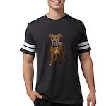 FIN-fawn-pit-bull-TRANS2 Mens Football Shirt