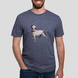 FIN-pit-bull-photo Mens Tri-blend T-Shirt