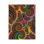 Funky Rainbow Swirl Pattern Twin Duvet