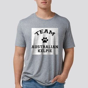 Team Australian Kelpie Mens Tri-blend T-Shirt