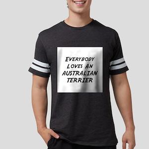 Australian Terrier Mens Football Shirt