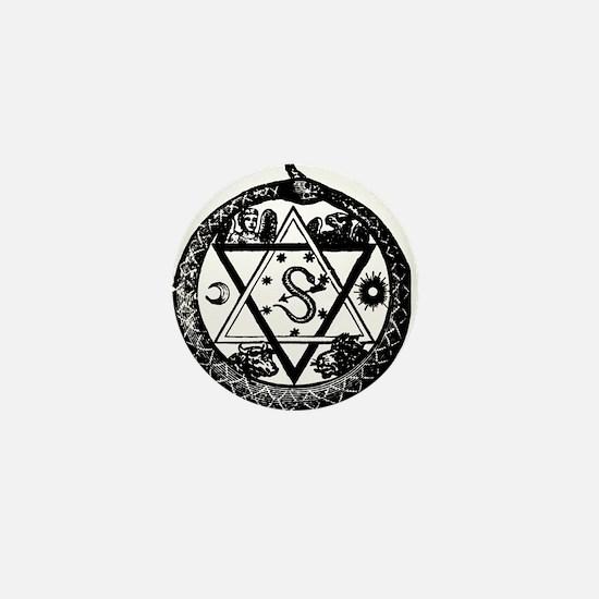 Cute Ordo templi orientis Mini Button