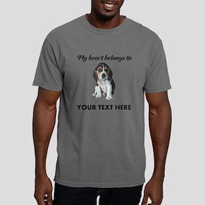 Personalized Beagle Custom Mens Comfort Colors Shi
