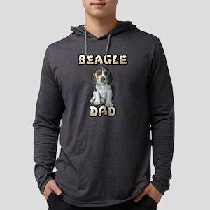 Beagle Dad Mens Hooded Shirt